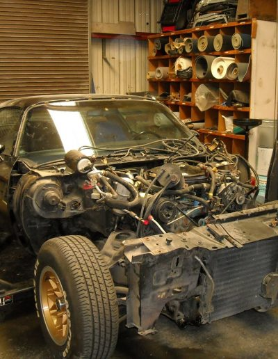 1978 Pontiac Firebird Front End Tear Down
